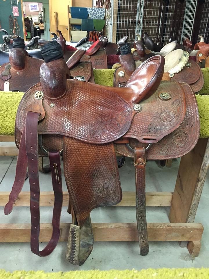 Used Roping Saddles